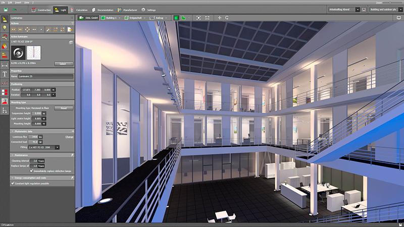 dialux-architecture